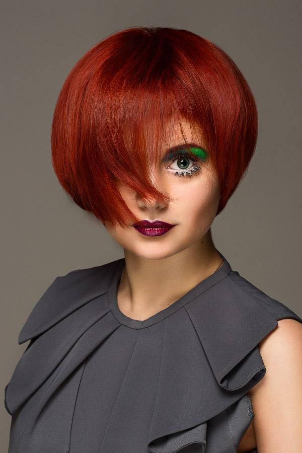 Съемка причесок для школы парикмахерского искусства