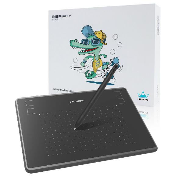Обзор и настройка графического планшета Huion H430P